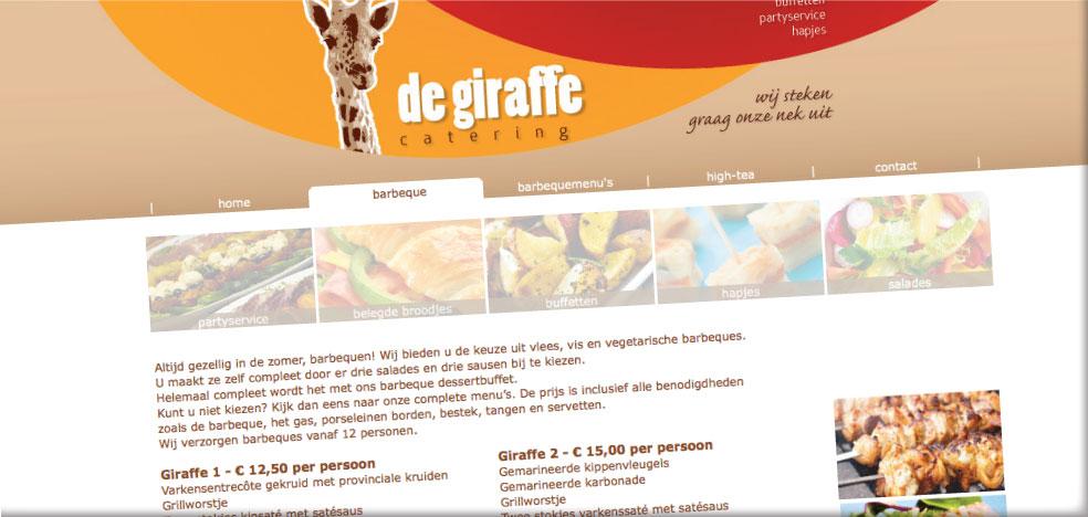 Drukkerij Teeuwen Giraffe catering afbeelding 2